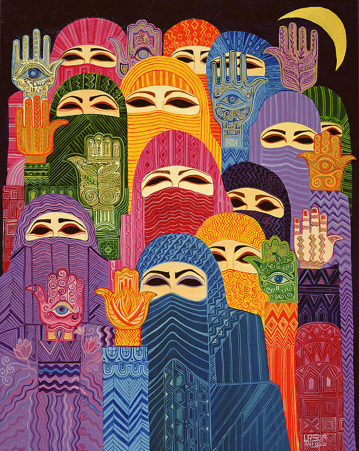 the-hands-of-fatima-1989-oil-on-canvas-laila-shawa