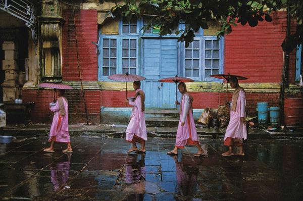 Procession-of-Nuns-Burma