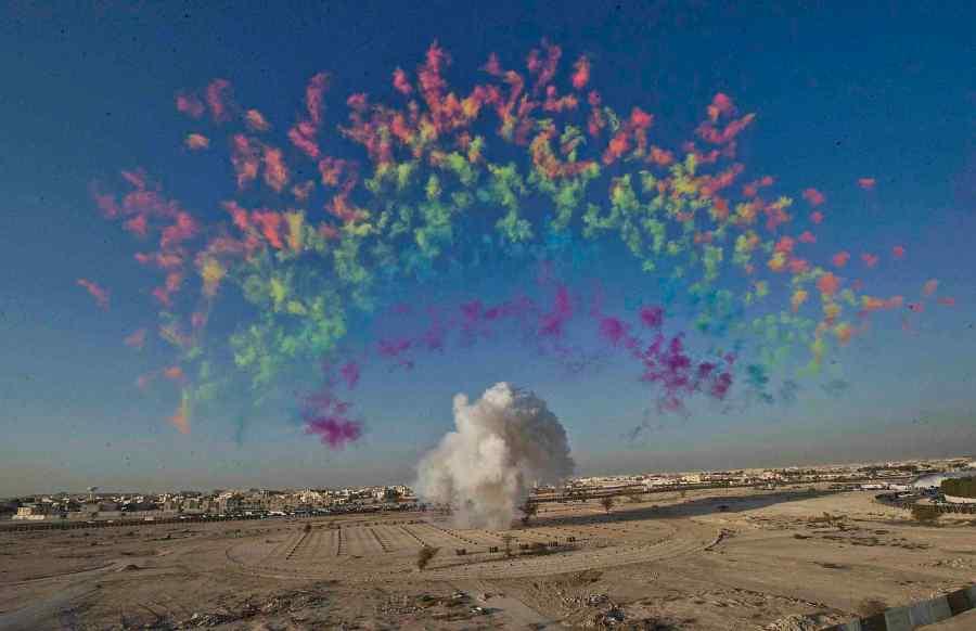 black_ceremony_rainbow_cai-guo-qiang