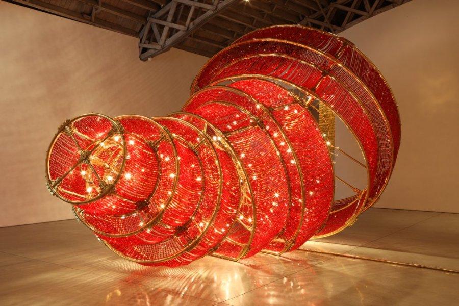 ai-wei-wei-red-sculpture