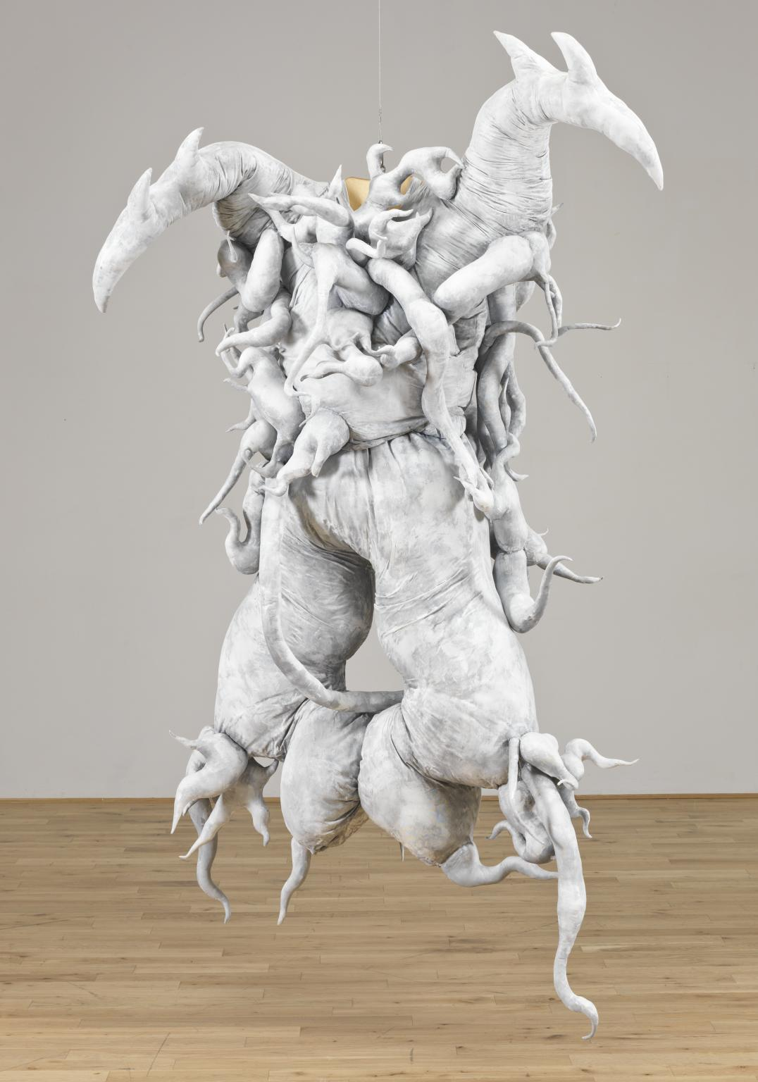 Untitled (Cravings White) 1988, reconstructed 2011 by Lee Bul born 1964